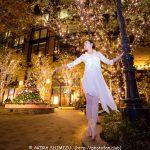 夜景ポートレート+ダンサーの写真で、2000イイネを越えました